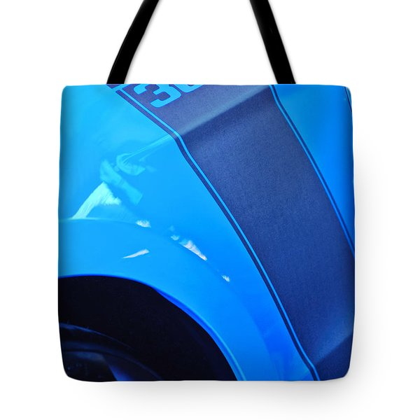 Ford Mustang Boss 302 Emblem Tote Bag by Jill Reger