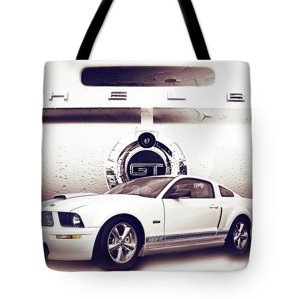 Ford Mustang Shelby Gt  Tote Bag