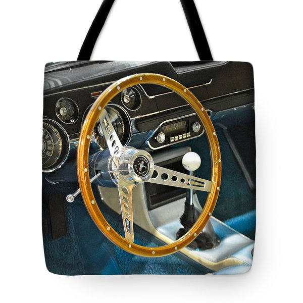 Ford Mustang Shelby Tote Bag by Pamela Walrath