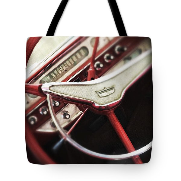 Ford Sunliner Tote Bag by Bradley R Youngberg