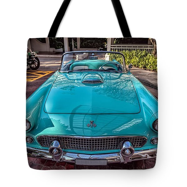 Tote Bag featuring the photograph Ford Thunderbird  by Adrian Evans