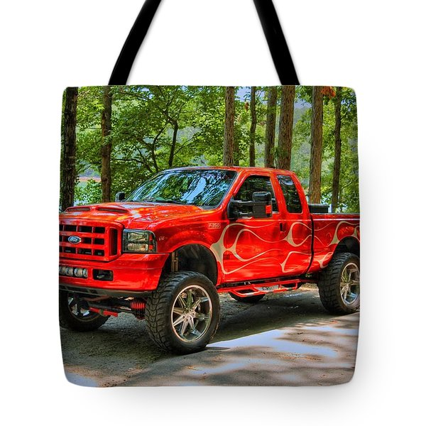 Ford Truck 01 Tote Bag
