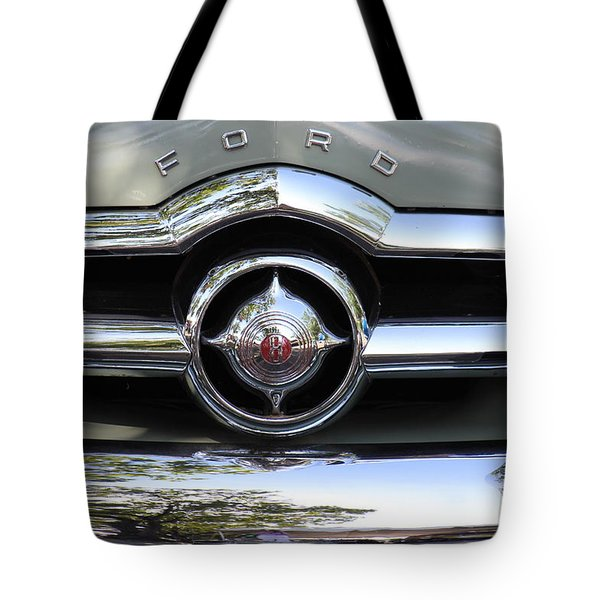 Ford V8 1949 - Vintage Tote Bag