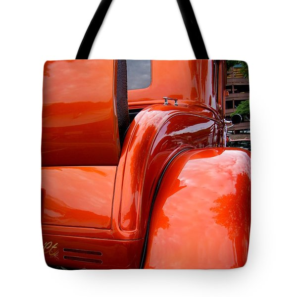Ford V8 Rear View With Rumble Seat Tote Bag