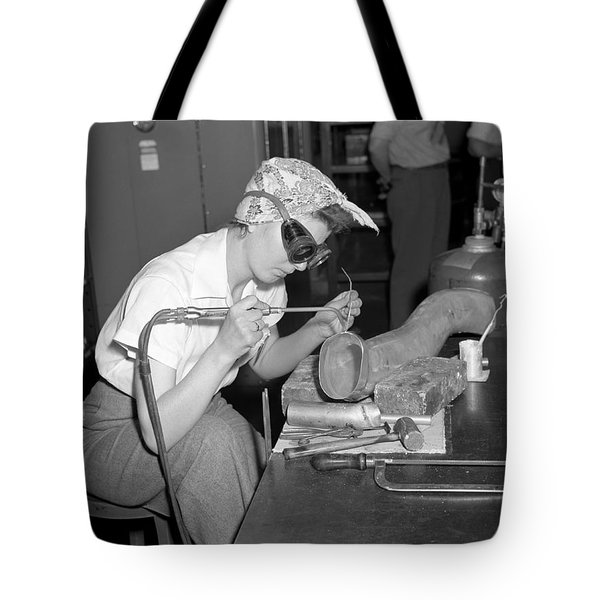 Ford Willow Run Bomber Plant. Tote Bag
