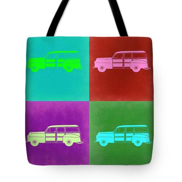 Ford Woody Pop Art  Tote Bag