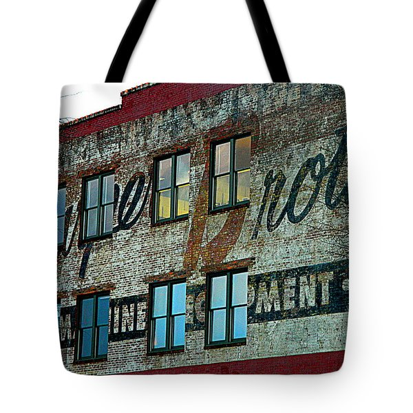 Fords Restaurant In Greenville Sc Tote Bag