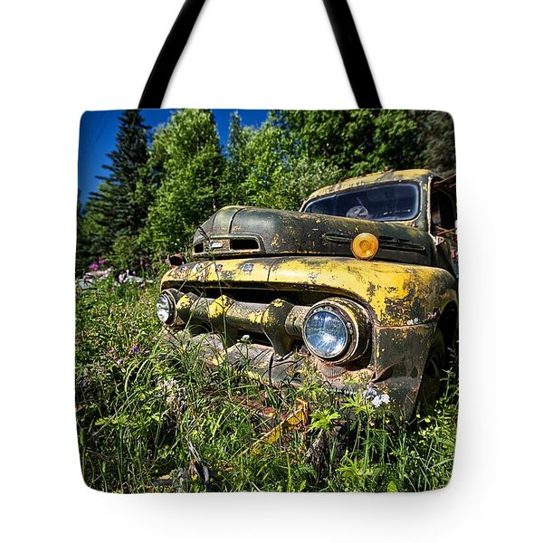 Fords View Tote Bag