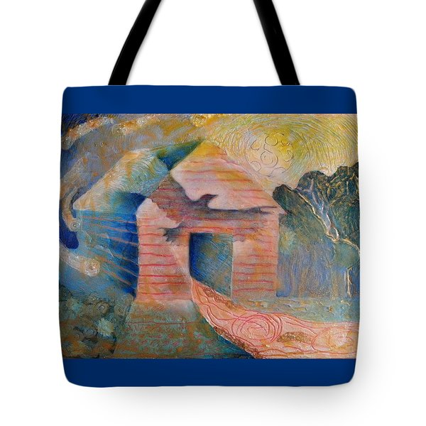 Foreshadowing Of A Twister Storm On The Wish-farm Tote Bag