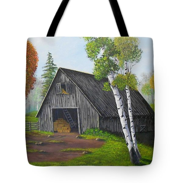 Forest Barn Tote Bag by Sheri Keith