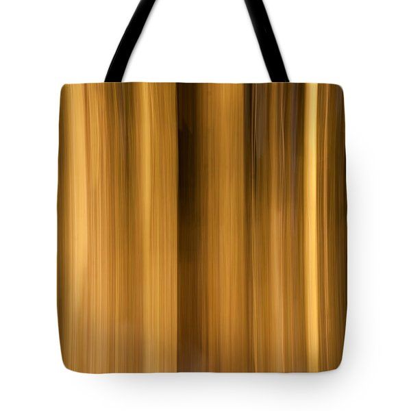 Tote Bag featuring the photograph Abstract Forest by Davorin Mance