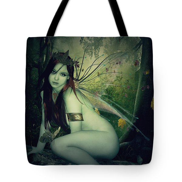 Forest Fairy Tote Bag by Kristie  Bonnewell