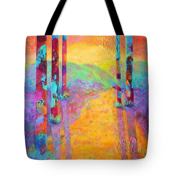 Forest Fantasy Tote Bag by Nancy Jolley