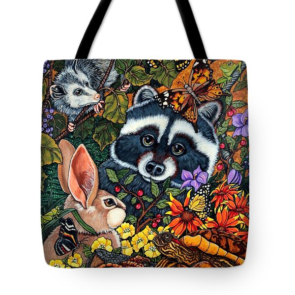 Forest Fantasy Tote Bag by Sherry Dole