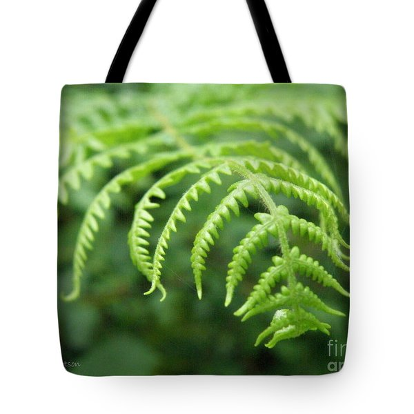 Forest Fern Tote Bag by Lainie Wrightson