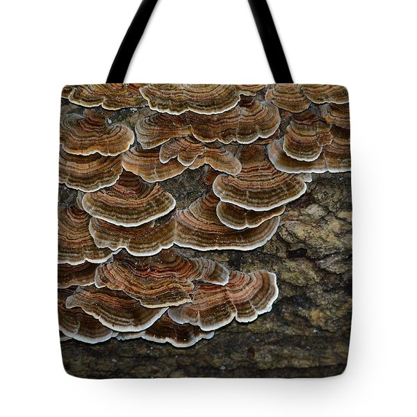 Forest Floor Number 3 Tote Bag
