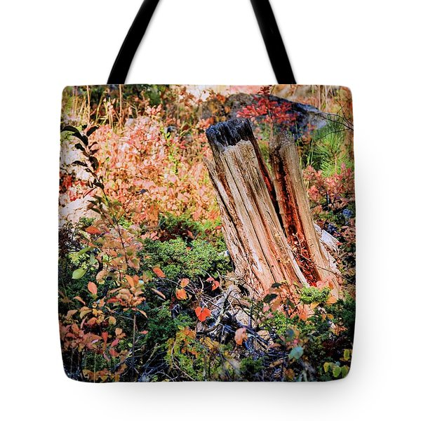 Forest Floral Tote Bag
