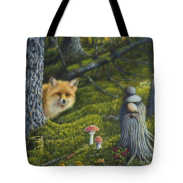 Forest Life Tote Bag by Veikko Suikkanen