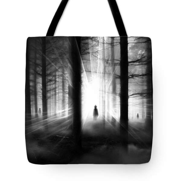Tote Bag featuring the photograph Forest... by Mariusz Zawadzki