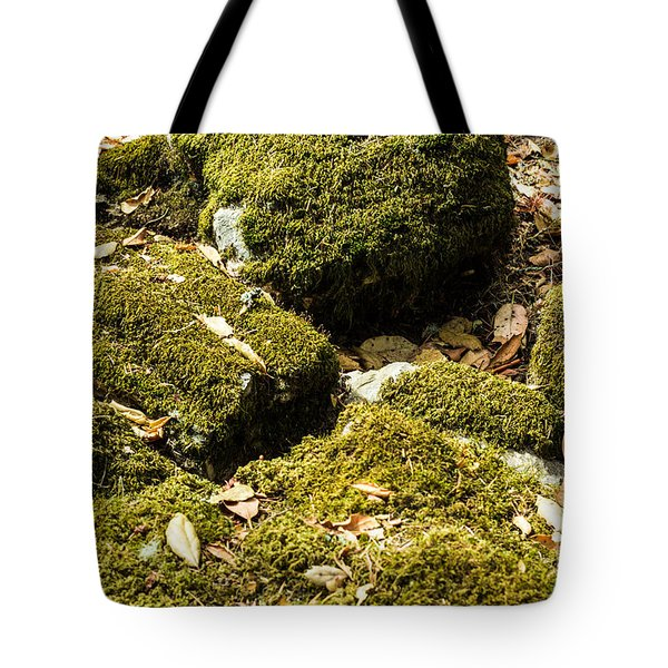 Forest Moss Tote Bag by Suzanne Luft