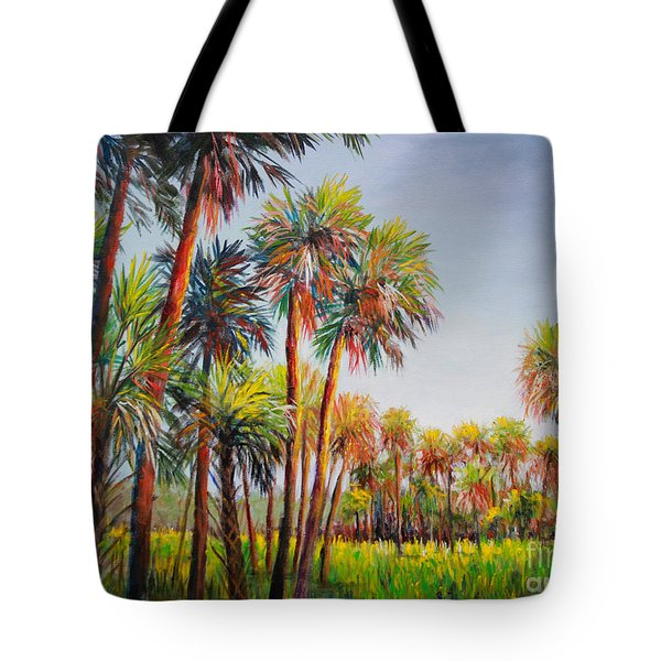 Forest Of Palms Tote Bag