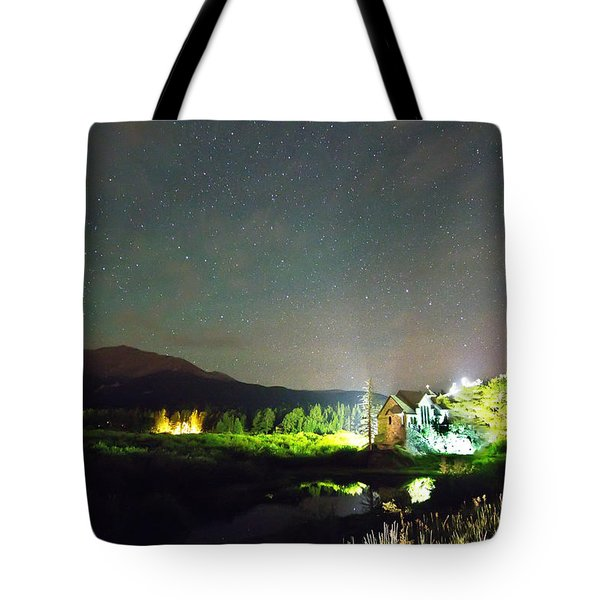 Forest Of Stars Above The Chapel On The Rock Tote Bag by James BO  Insogna