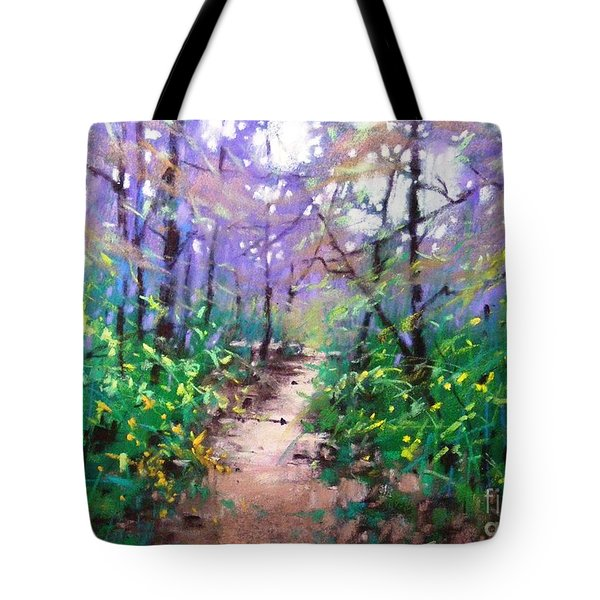 Forest Of Summer Tote Bag