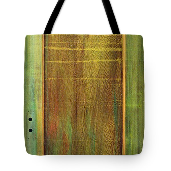 Forest Painted Door Tote Bag by Asha Carolyn Young