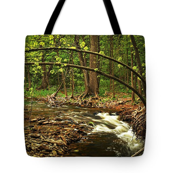Forest River Tote Bag