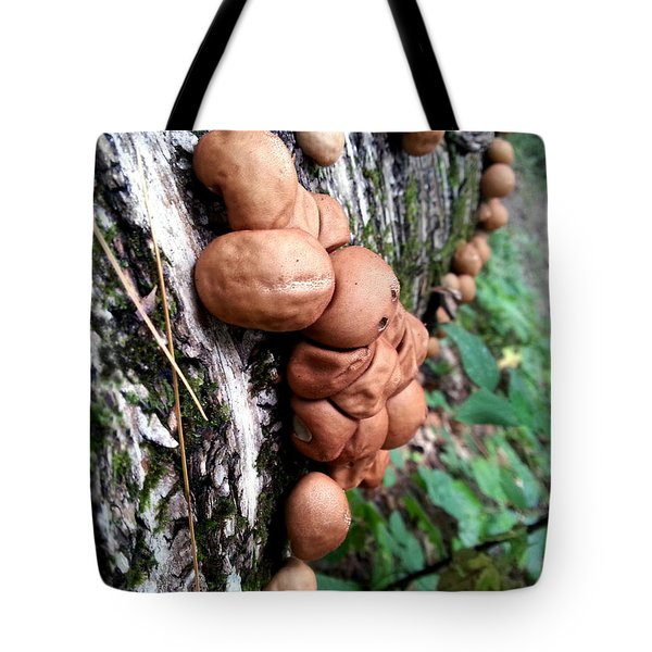 Forest Shrooms Tote Bag