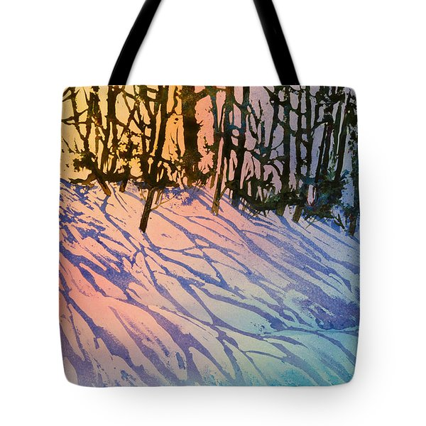 Forest Silhouettes Tote Bag