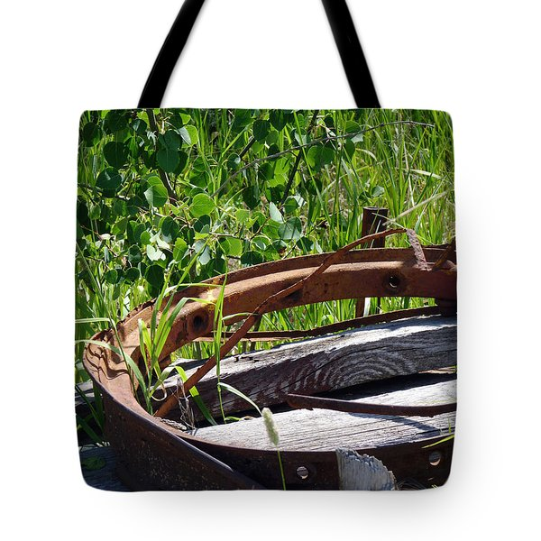 Tote Bag featuring the photograph Forest Takeover by Meghan at FireBonnet Art