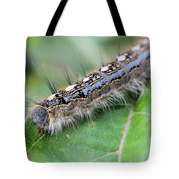 Forest Tent Caterpillar Tote Bag
