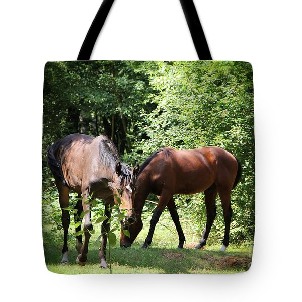 Forest Visitors Tote Bag