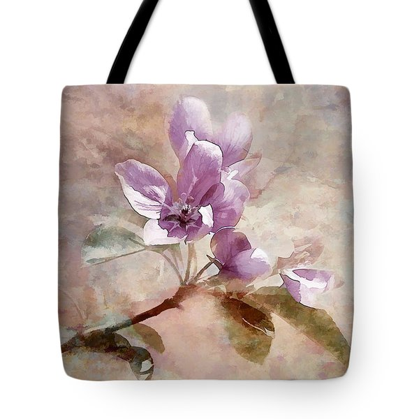 Tote Bag featuring the photograph Forever Blossom by Elaine Manley