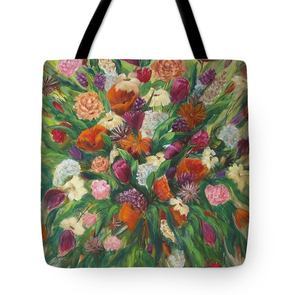 Forever In Bloom Tote Bag