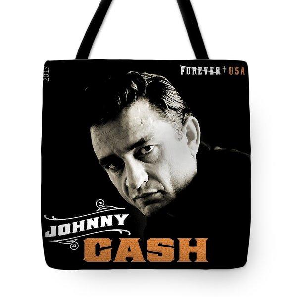 Forever Johnny Cash Stamp 2013 Tote Bag