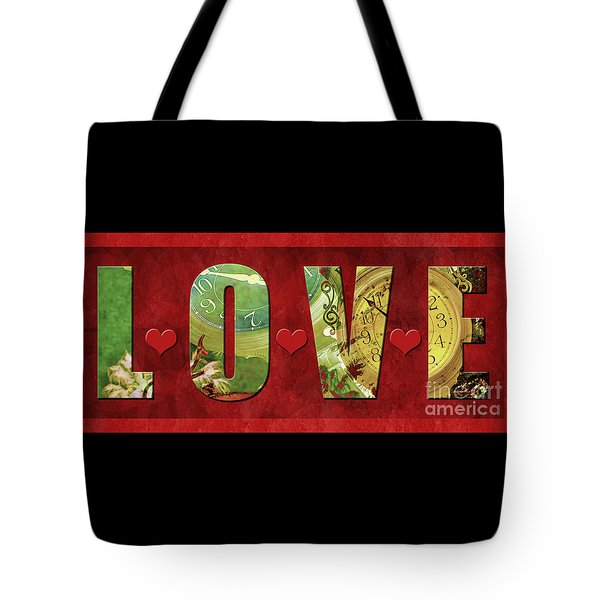 Forever Love #2 Tote Bag by Claudia Ellis