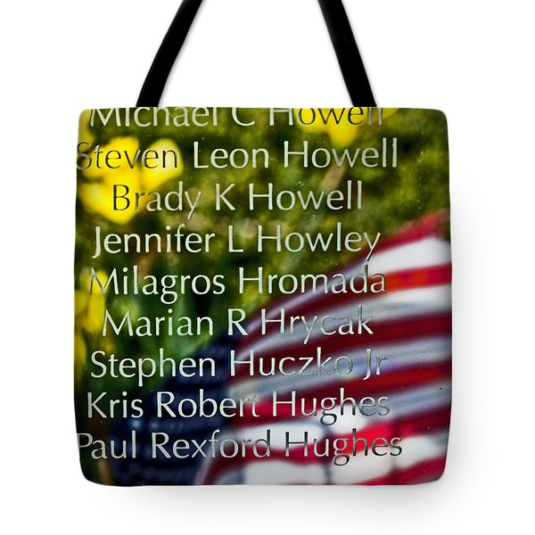 Forever Remembered Tote Bag by Tom Gari Gallery-Three-Photography