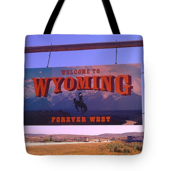 Forever West Tote Bag