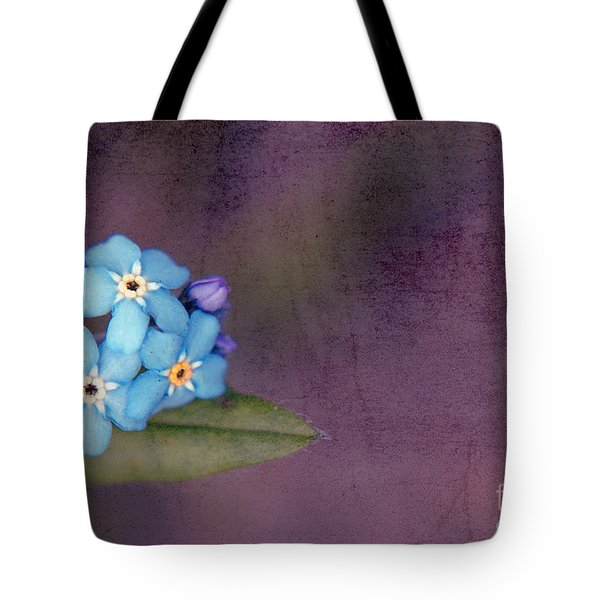 Forget Me Not 02 - S0304bt02b Tote Bag by Variance Collections