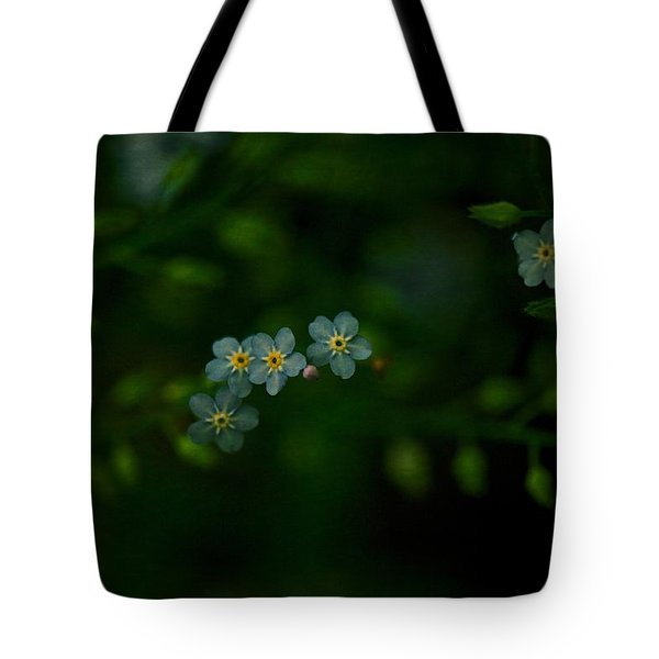 Forget  Me Not 4 Tote Bag