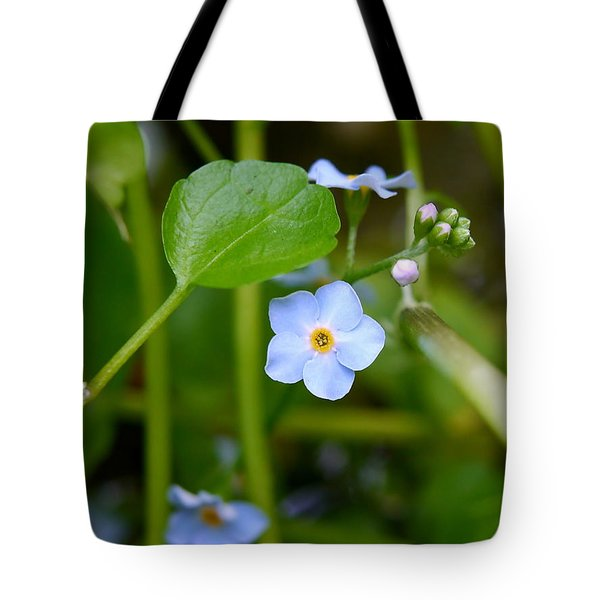 Forget Me Not Tote Bag by John Chatterley