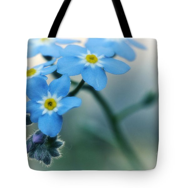Forget Me Not Tote Bag by Simona Ghidini