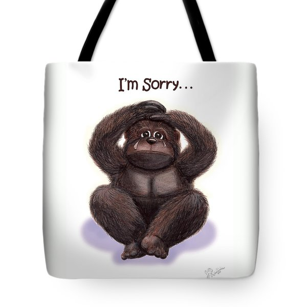 Forgive Me Tote Bag by Jerry Ruffin
