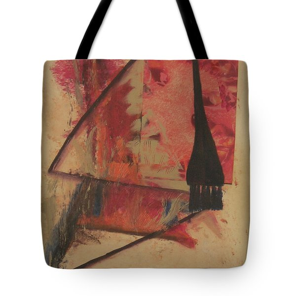 Tote Bag featuring the painting Forgive My Tears by Mini Arora
