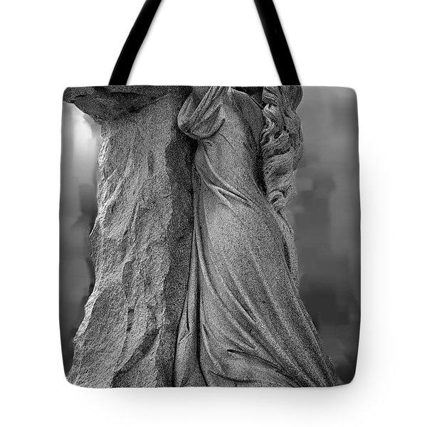 Forgiven Tote Bag by Randy Pollard