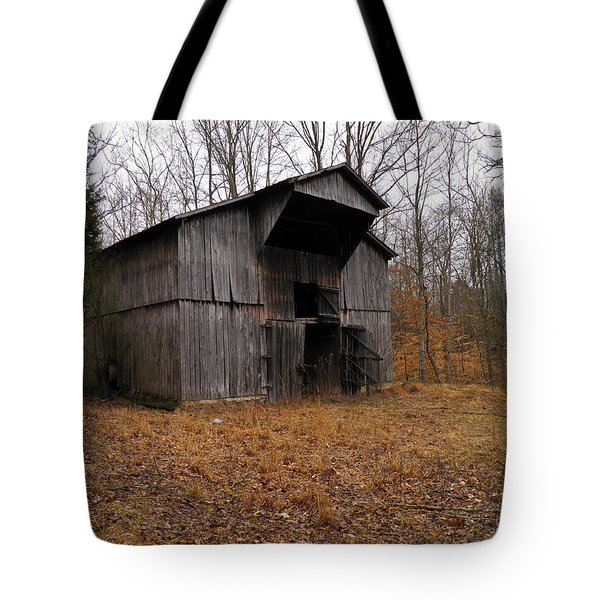 Tote Bag featuring the photograph Forgotten Barn by Nick Kirby