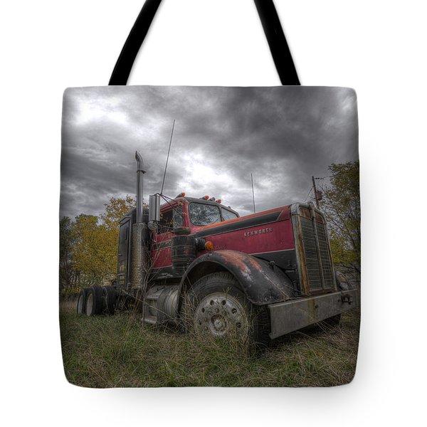Forgotten Big Rig 2014 V2 Tote Bag
