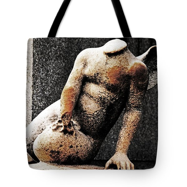 Forgotten Cherub Tote Bag